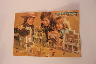 1985 Catálogo Bloques Exin West Casitas Armables Exinmex