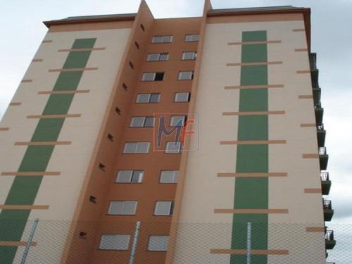Imagem 1 de 22 de Ref 2395 Belo Apartamento Em Diadema No Centro, Torre Unica Próx. Avenida Presidente Kennedy, Com 3 Dorms (1 Suíte), 2 Vagas E 70 M² Útil. - 2395