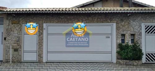 Hualll/casa Alto Padrão/térrea/3dorm/suíte/piscina/2vgs/caiçara - Vtft824