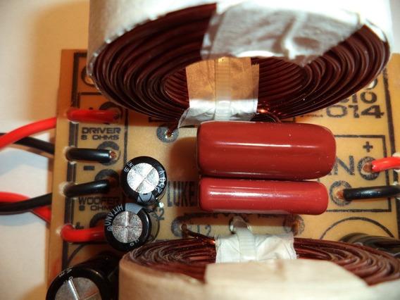 1 Divisor Frequencia Crossover 2 Vias P/ Woofer E Driver Ti