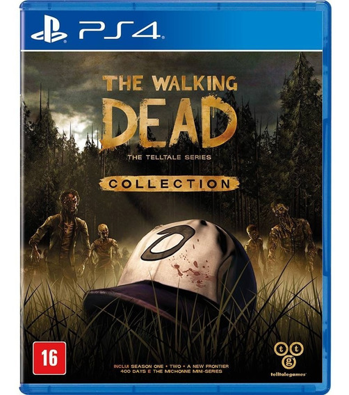 The Walking Dead Collection - Ps4 - Novo
