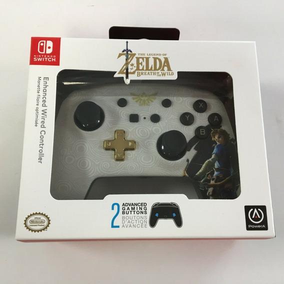 Controle: Legend Of Zelda Breath Of The Wild - Branco