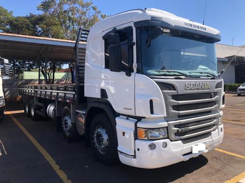 Imagem 1 de 15 de Caminhao Scania P310 8x2 (bitruck) 2016/2016