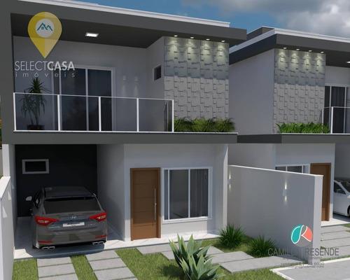 Lindas Casas Em Morada De Laranjeiras-lançamento - Ca0267