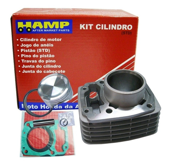 Kit Cilindro Motor Cg 150 Titan 2008 Original Honda Hamp