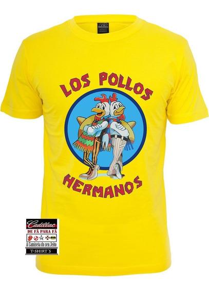 Camiseta Los Pollos Hermanos - Breaking Bad - 100 % Algodão