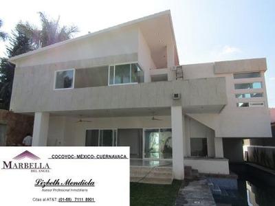 Impactante Residencia En Lomas De Cocoyoc