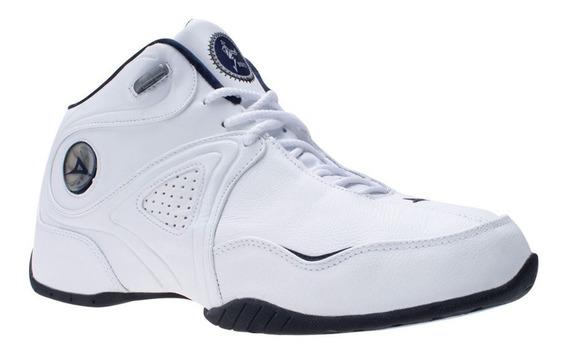 Tenis Para Basquetbol Pirma Brasil 867 Color Blanco