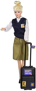 Daron Southwest Airlines Flight Attendant Doll