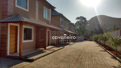 Casa Com 2 Dormitórios À Venda, 58 M² - Rincão Mimoso (itaipuaçu) - Maricá/rj - Ca3648