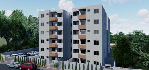 Imagem 1 de 9 de Apartamento À Venda, 2 Quartos, 1 Vaga, Chácara Contagem - Contagem/mg - 24856
