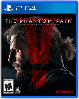 Metal Gear Solid 5 The Phantom Pain - Ps4 - Digital - Manvic