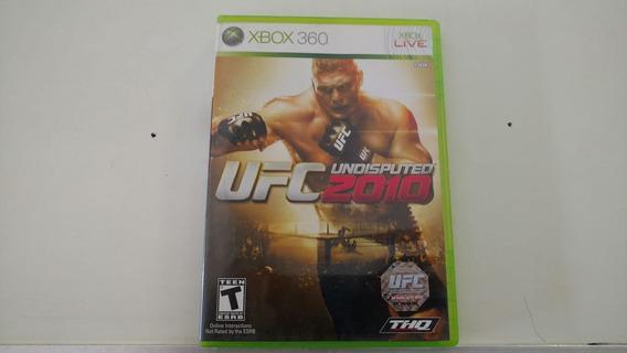 Ufc 2010 Undisputed Xbox 360 Original