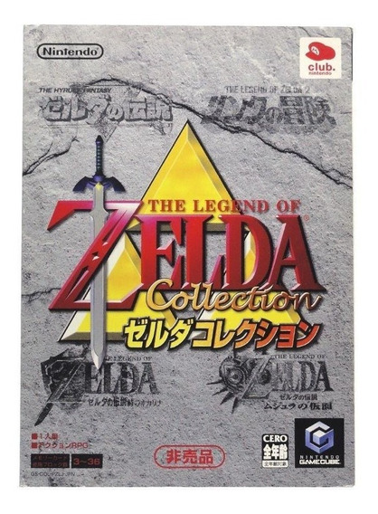 The Legend Of Zelda Collectors Edition Gamecube Japonês