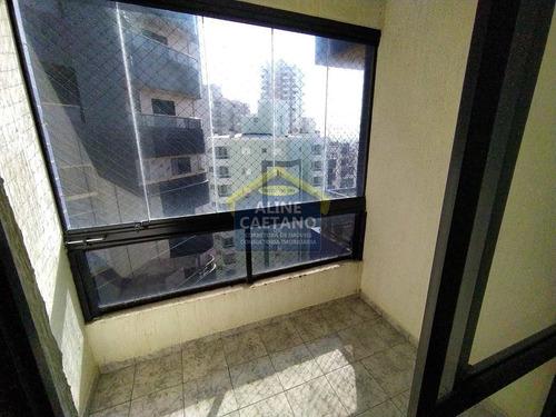 Imagem 1 de 24 de Apto 54m², 02 Dorm, Sacada Envidraçada, 120 Mt Da Praia, 01 Vg - Vvnt248