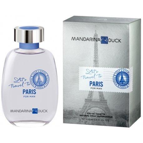 Perfume Mandarina Duck Lets Travel To Paris Edt M 100ml