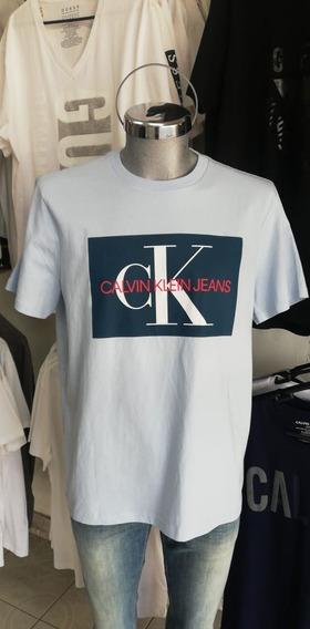 Playera Calvin Klein 100% Original Cuello Redondo