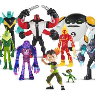 Ben 10 Muñecos Figuras De 13 Cm Ben10 Originales Playmates