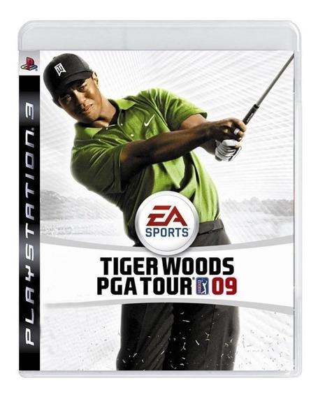 Jogo Tiger Woods Pga Tour 09 Ps3 Novo Lacrado Midia Fisica