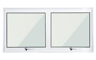 Janela Maxim Ar Alumínio Branco 0,50 X 1,00