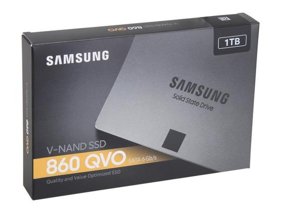 Hd Ssd 1tb Sata3 860 Qvo Samsung - Lançamento C/nf