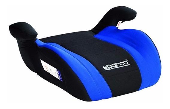 Silla De Carro Booster Azul-neg Para Niños Sparco Spc3002az