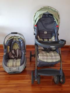 Coche Y Porta-bebe Graco Alano