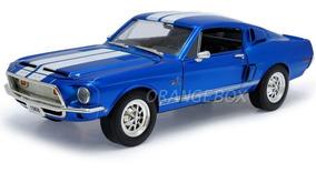 Shelby Gt-500kr 1968 1:18 Yat Ming #92168-azul