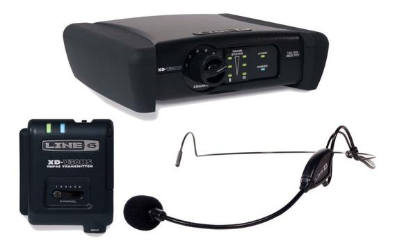 Microfone Headset Line 6 Sem Fio Xd V30 Hs + Nf E Grtia!