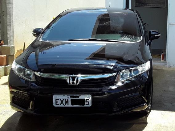 Honda Civic 12/13 Preto