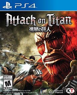 Ps4 Attack On Titan