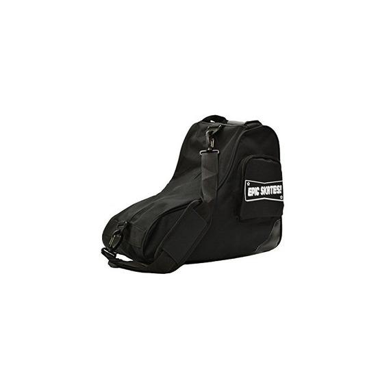 Bolsa Skate Premium Epic Skates, Negro