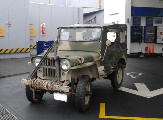 Vendo Jeep Willys Cj2a Año 1946
