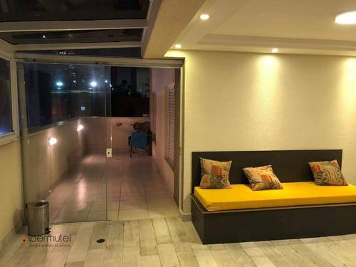 Lindo Garden Com 3 Dormitórios À Venda, 132 M² - Mooca - São Paulo/sp - Gd0008