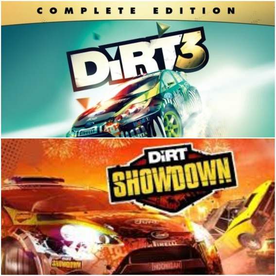 Dirt Collection Pc Steam Cd-key (dirt 3 + Dirt Showdown)