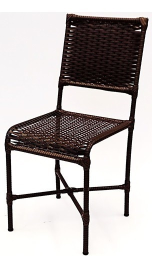 Cadeira Cozinha Junco Rattan Fibra Sintética 100% Revestida