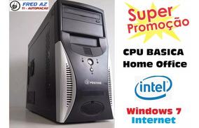 Cpu Desktop Wifi P/ Trabalho E Estudo Basico Home Office