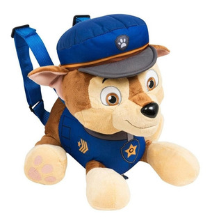 Chase Paw Patrol Patrulla Canina Peluche Mochila