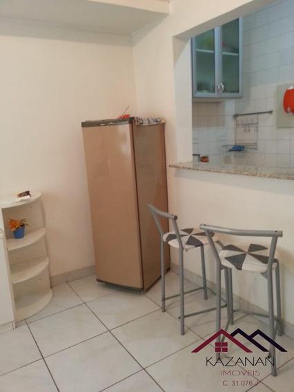 Apartamento - Sala Living - Embaré - Santos - 4394