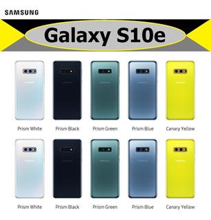Samsung Galaxy S10e Con Funda 128gb Dual Nuevo Original Caja Sellada Gtia Anual Fct C