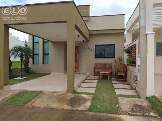 Casa Mobiliada À Venda No Condomínio Jardins Do Império - Ca04555 - 33998488