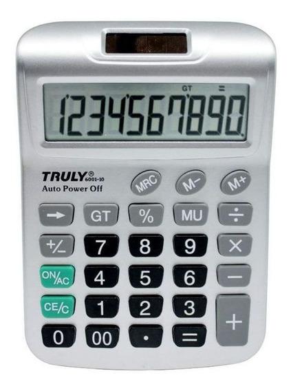 Calculadora 10 Dígitos 6001-10 Truly