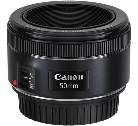 Lente Canon Eos Ef 50mm F1.8 Stm