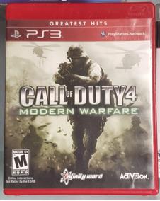 Call Of Duty 4 : Modern Warfare® Ps3 Mídia Física Frete R$10