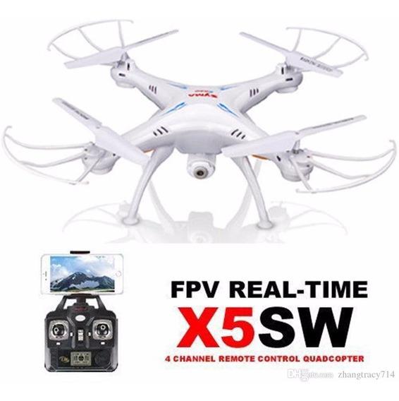 Drone Syma X5sw Com Camera Wifi