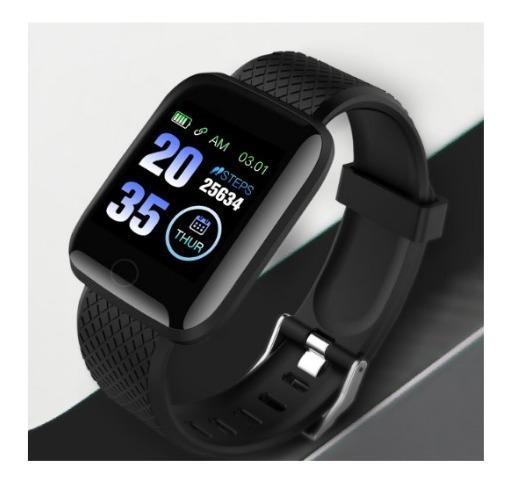 Relógios Inteligente D13 Com Freqüência Cardíaca (unissex)