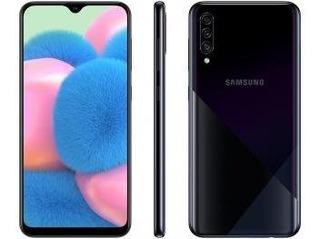 Smartphone Samsung Galaxy A30s 64gb Preto 4g - 4gb Ram Tela