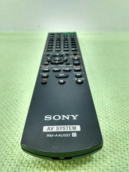 I86 Controle Remoto Rm-aau027 Original Do Receiver Muteki