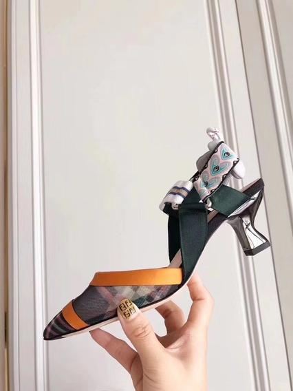 Hermosos Zapatos Fendi Mujer Originales 100%