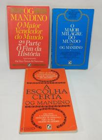 Livros Og Mandino Usados / Lote Com Três Títulos